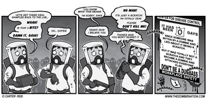 Workplace Safety During The Zombie Apocalyps by zombiecarter