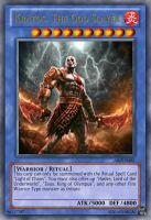 Kratos, The God Slayer Yu-Gi-Oh Card by dakln