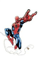 Spider-Man colored by ejimenez