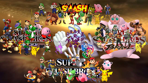 super smash bros through Time by The-E-guess-corner