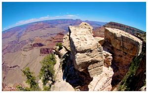 Grand Canyon Fisheye by jaydoncabe