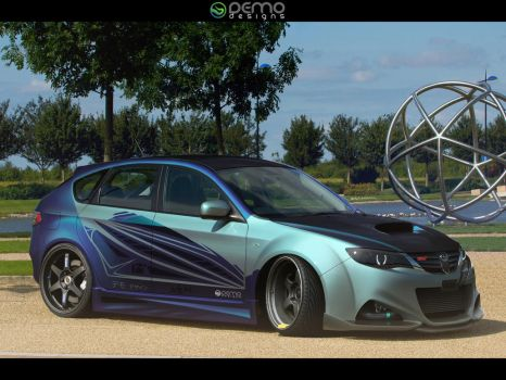 Subaru Impreza STI by DemoDesign