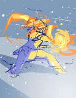 Fire n' Snow by ComickerGirl