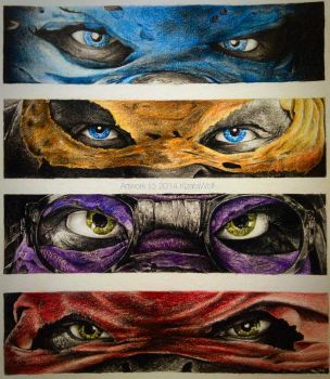 Teenage Mutant Ninja Turtles by KizaraWolf