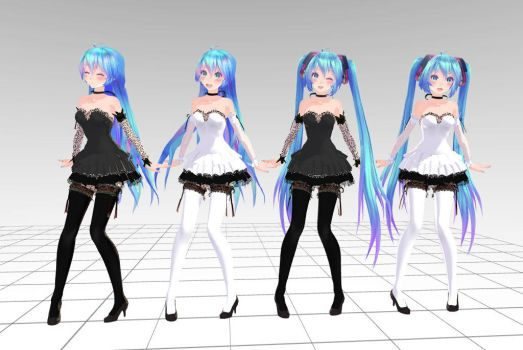MMD Tda Miku Crasy Download !! by InoriAruma