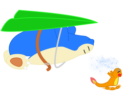 Snorlax used Fly by Citrus--Rain