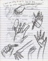 Study on Hands by rage-fits