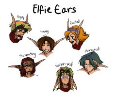 Elfie Ears Colored by Luna-Kitsune-Blu