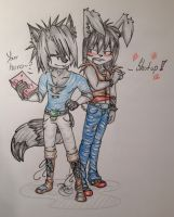 Two Ukes One Diary XD by XxSweet-CoffeyxX