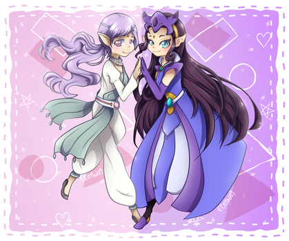 Princess and Queen! by Eterna09