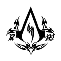 Custom assassins creed logo 2 by rathalosrider