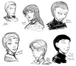 Some faces by Mahe