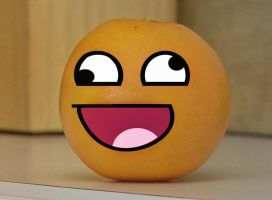 The Annoying Orange by 1sk
