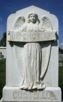 Mount Olivet Cemetery Angel 15 by Falln-Stock