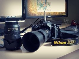 My New Weapon, D300 by SeemDesign