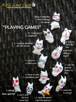 Playing Games Onion Heads by FifiGoof