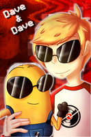 Dave and Dave [Homestuck x despicable me] by VanessaGiratina