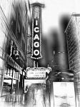 Chicago Theatre by freddielopezjr