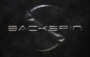 Backspin Stone Lettering Wallpaper by OverdrivenZX