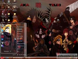 Akatsuki Theme For XP by vinhxomdoi