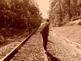 Im going to the right side of the tracks Ben by smokeymountainboy