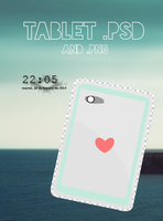 Tablet WHI by WeHeartItza