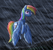 Rainybow Dash by paper-pony