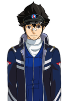 Ace Attorney: Clay Terran Sprite by Youmikori