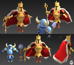King Knight Model by Smearg