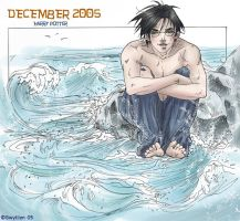 HP Art Calendar-December 2005 by The-Gwyllion