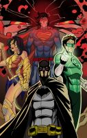 justice league by rumman46