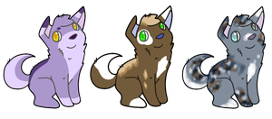 Puppy adopts by CleverConflict