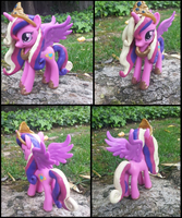 Custom Princess Cadence Figure by KittyKatz547