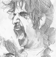 Frank Vincent Zappa by TomekO