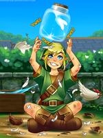 Link - The hero of Hyrule by RoninDude