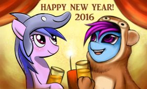 Happy New Year 2016 by Coke-brother