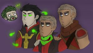 MKX - Ermac, Erron, Donovan and Reptile by O-F-T-E-N