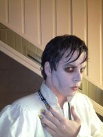 Barnabas Collins make up and nails try out by CaptJackSparrow123