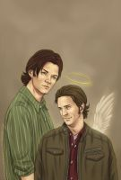 Supernatural - Sabriel by Kumagorochan