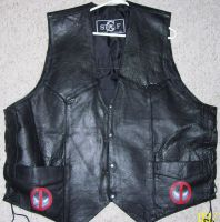 front of my biker vest by nightwing70