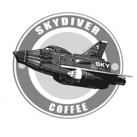 Skydiver Coffee by Chrisofedf