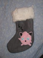 Jigglypuff Christmas stocking by FairyAnts