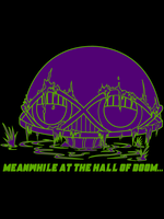 Meanwhile at the Hall of Doom by Mbecks14