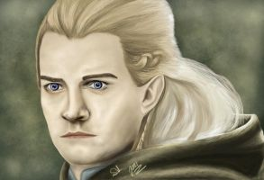 Orlando Bloom as Legolas by Supidupidu