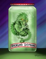 the pickled demon by LabrenzInk