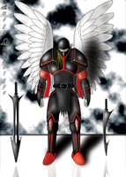 Angel Knight by omegaarchetype