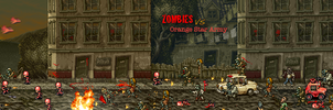 Orange Star Army  VS  Zombies by BalloonPikachu