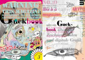 Guckbook No 0 Cover and backpage by StephanusEmbricanus