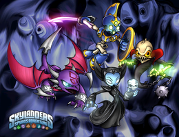 Undead Skylanders-COLORED by PPGxRRB-FAN