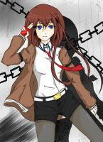 Kurisu - HAPPY BIRTHDAY ~KawaiiLilCupcake by neon-shan